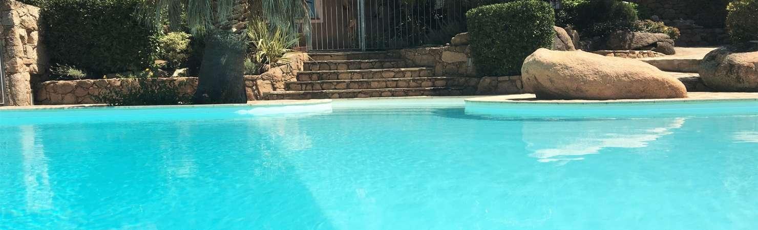 Location villa avec piscine privée Porto Vecchio